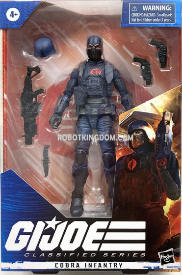 """G.I. Joe Classified Series 6"""" Cobra Infantry Action Figure. Available Now!"""