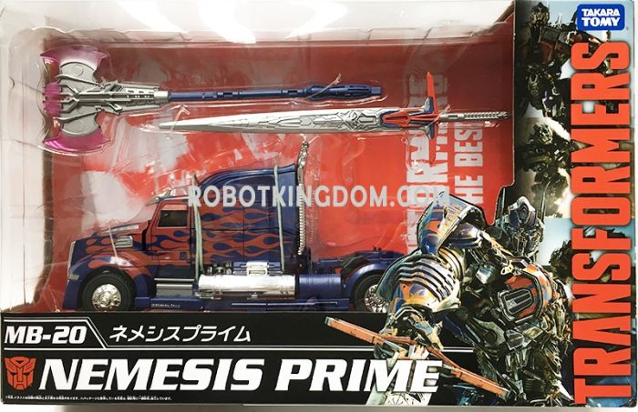 Takara Transformers MB-20 Nemesis Prime. Available Now!