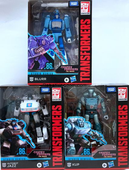 Hasbro Transformers Studio Series DELUXE 2020 Wave 4 Case of 8. (KUP, BLURR, JAZZ). Available Now!