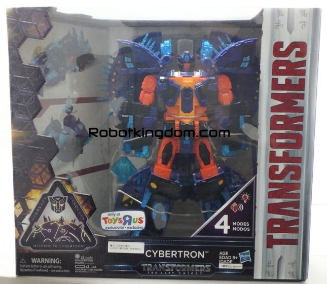 TRU Exclusive Transformers Movie 5 The Last Knight - CYBERTRON. Available Now!