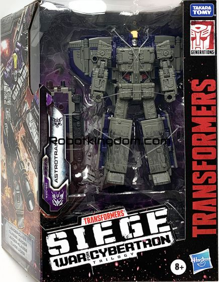 Transformers Generations WFC LEADER AST W3 solid ASTROTRAIN. Available Now!