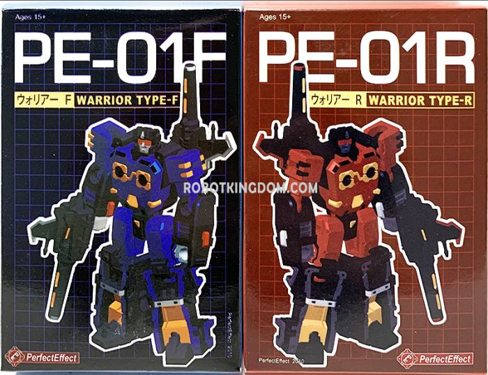 PERFECT EFFECT SHADOW WARRIOR PE-01F & PE-01R Set of 2. Available Now!