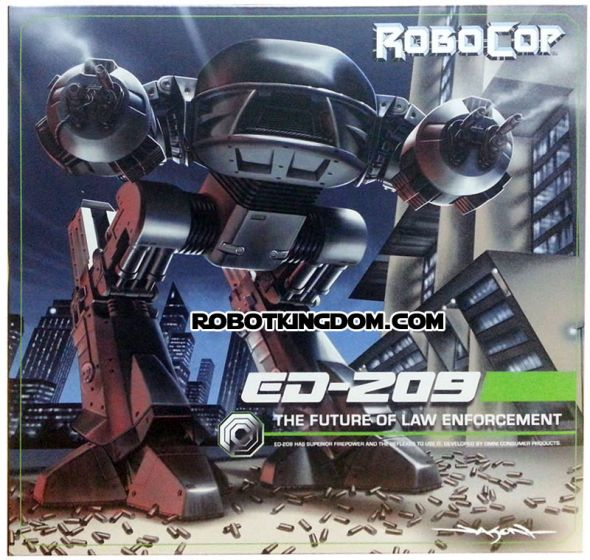 """NECA Robocop ED-209 10"""" Action Figure. Available Now!"""