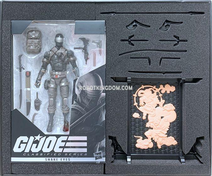 G.I. Joe Classified Series Snake Eyes Deluxe Figure.