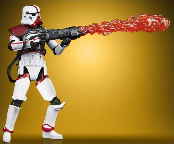"Exclusives Star Wars Vintage Collection 3.75"" Incinerator Trooper. Preorder. Start Shipping on 1st December 2020."