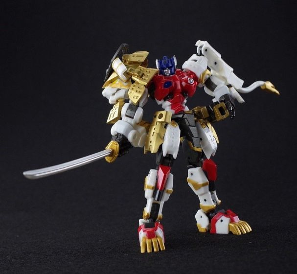 IRON FACTORY IF-EX45 YOROI-SHISHIMARU. Preorder. Available in July 2020.