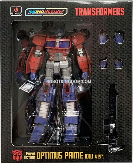 Flame Toys [Furai Action] Optimus Primes (IDW ver.). Available Now!