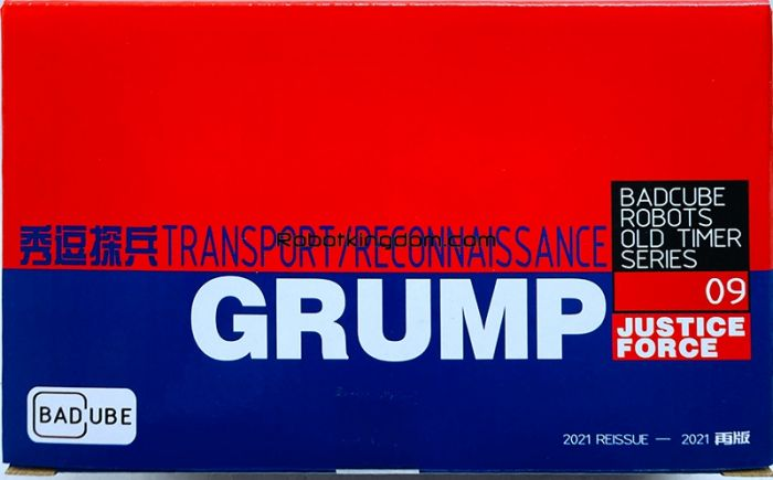 Badcube Old Time Series OTS-09 Grump. Available Now!
