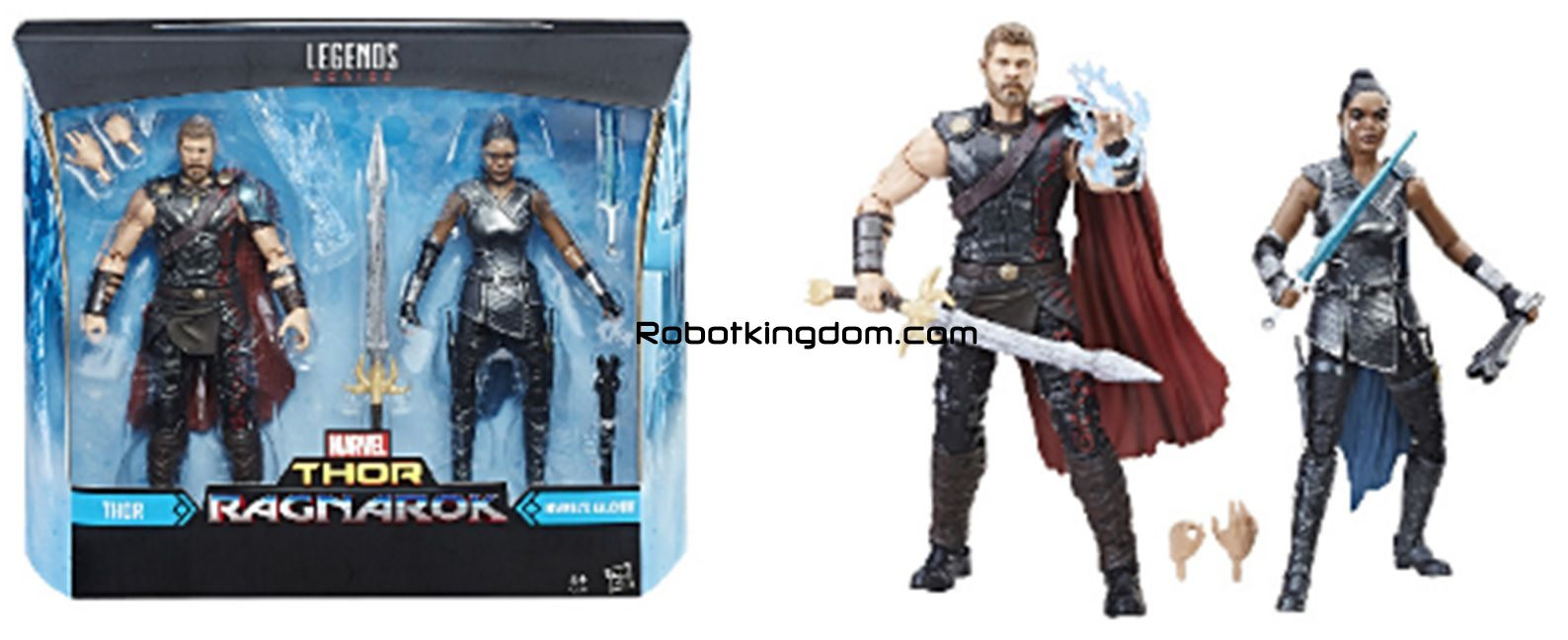 Marvel Mighty Thor Legends Series BOIA /& Incantatrice 2 Figure Set C2042
