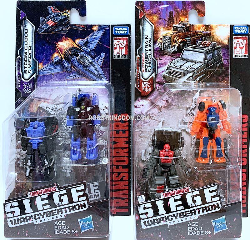 Transformers TCG Wave 3 /& 4 Siege Micromaster Air Strike Patrol SET COMPLETE