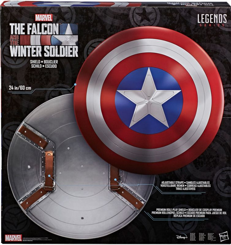the falcon and the winter soldier marvel legends series captain america s shield preorder start shipping on 1st january 2021 robotkingdom