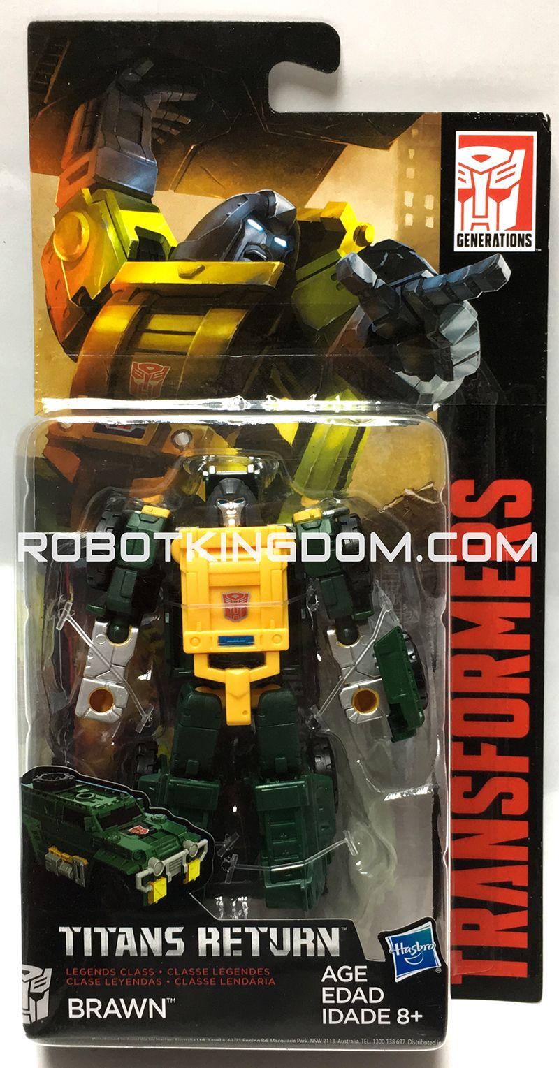 Transformers Titans Return Legends Class Wave 4 ROADBURN Loose Figure Hasbro