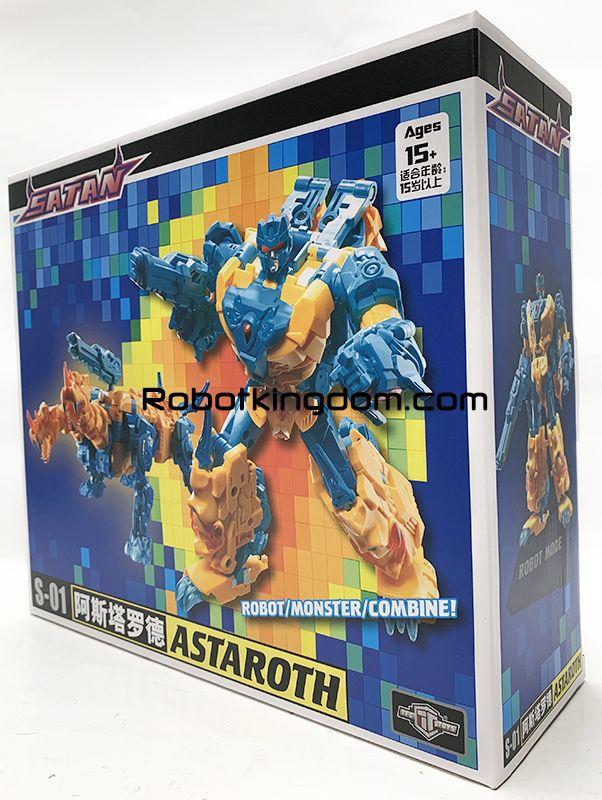 New Transformation TFC SATAN S-01 ASTAROTH Action Figure Arriva soon