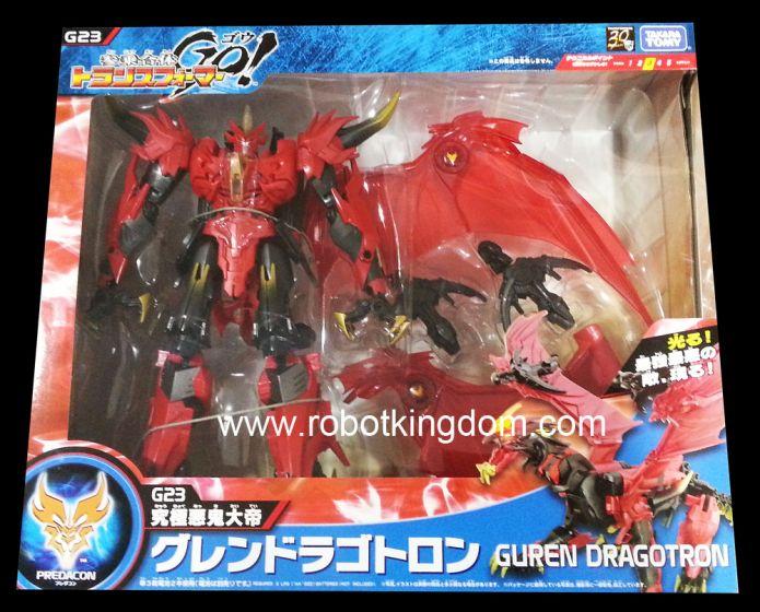 Takara Transformers Go G-23 Dragotron Final Form.