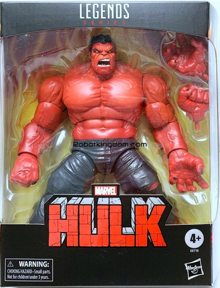 "Exclusives Marvel Legends 6"" Red Hulk. Available Now!"