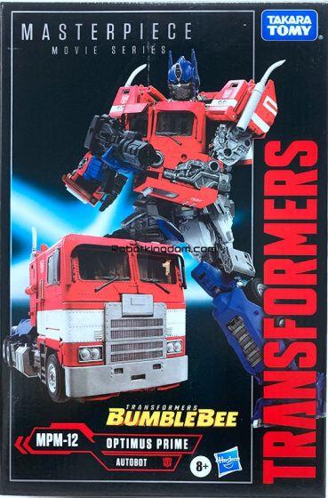 Hasbro/Takara Transformers Masterpiece (Bumblebee Movie)  MPM-12 Optimus Prime. Start Shipping Now!