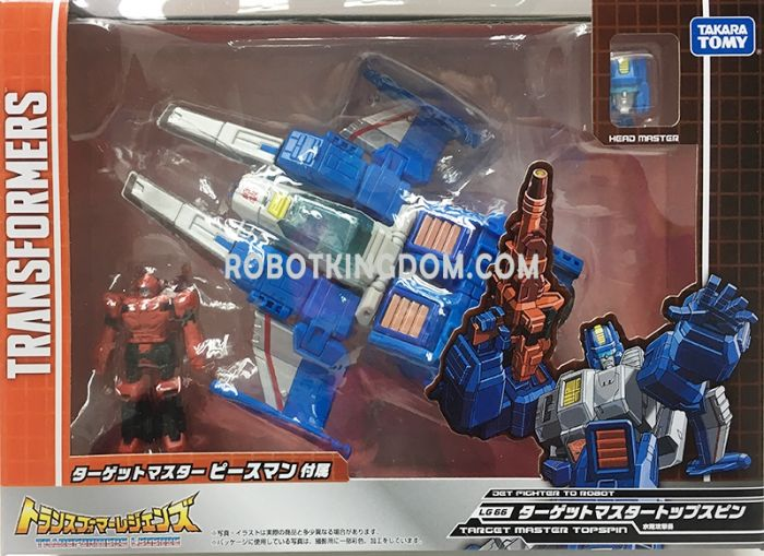 Transformers Legends LG-66 TARGET MASTER TOPSPIN. Available Now!