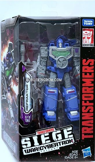 Transformers Generations DELUXE REFLECTOR (Refraktor). Available Now!