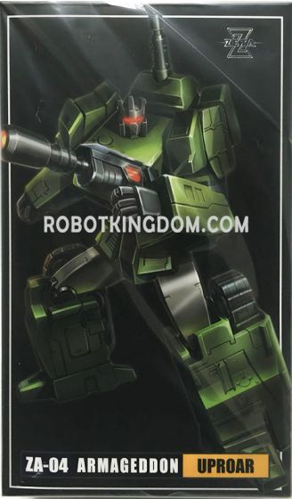 Zeta Toys ZA-04 UPROAR. Available Now!