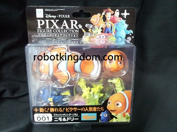 Kaiyodo Revoltech Pixar figure collection 001 Nemo and Dory.