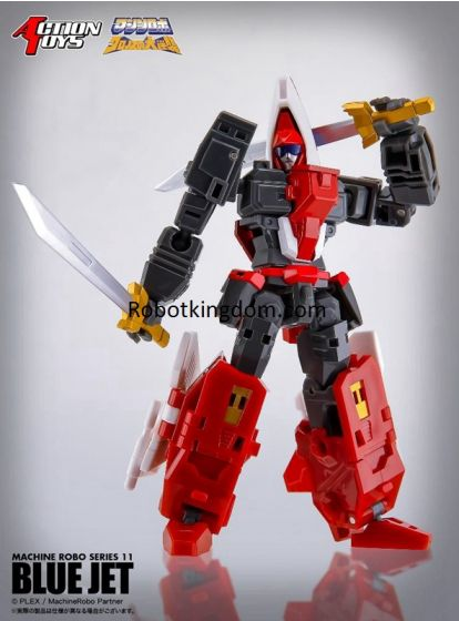 Action Toys Machine Robo 11 BLUE JET. Preorder. Available in 1st Quarter 2021.