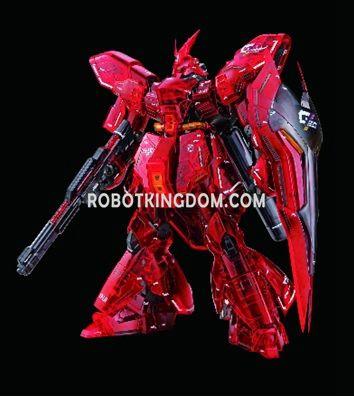Hong Kong Gundam Dock III MG MG 1/100 SAZABI Ver. Ka [Metalic Frame & Clear Color]. Preorder. Available in late August.