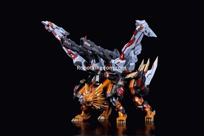 Flame Toys [Kuro Kara Kuri] Victory Leo. Preorder. Available in April 2021.