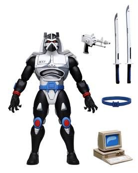 """NECA Teenage Mutant Ninja Turtles (Cartoon) – 7"""" Scale Action Figure – Ultimate Chrome Dome. Preorder. Available in 2nd Quarter 2021."""