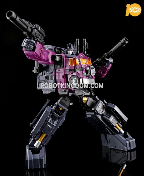 FANS HOBBY SGC 10TH Convention Exclusive MB-06B PURPLE POWER BASER. Limited to 500pcs Worldwide. Available Now!