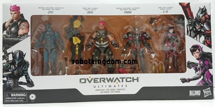 Overwatch Ultimates Core Figure Carbon Series. Available NOW!