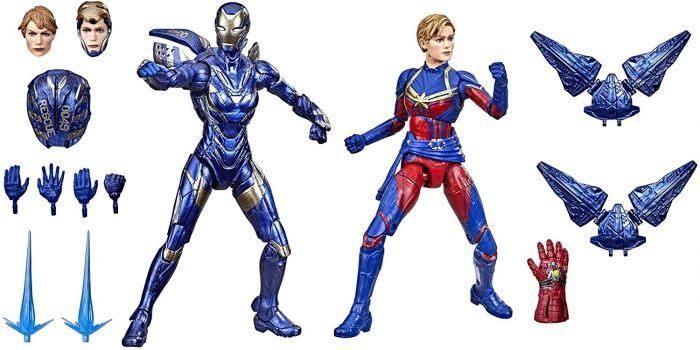 Exclusive Marvel Legends The Infinity Saga Captain Marvel & Rescue Armor 2 Pack. Preorder. Start Shipping on 1st September 2021.