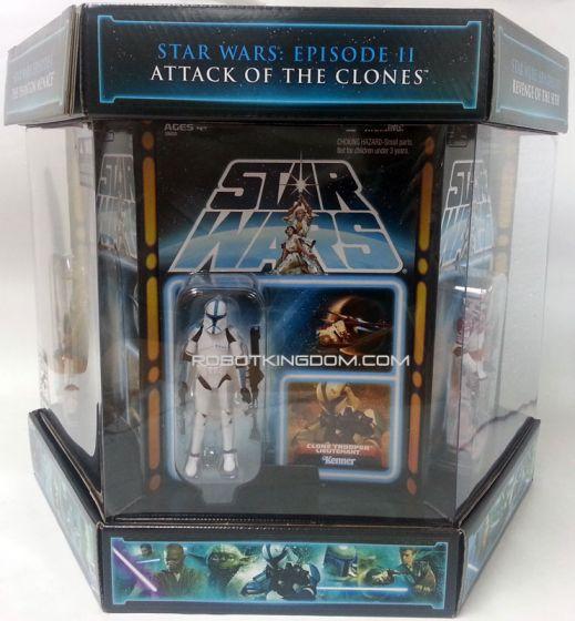 SDCC 2012 Star Wars Vintage Carbonite Freezing Chamber Action Figure Box Set.