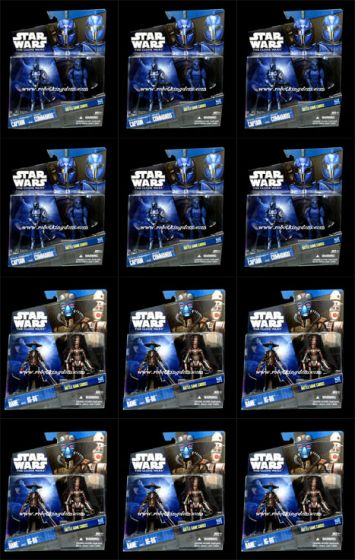 Hasbro Star Wars 2010 Exclusive Two-Pack Sealed Case of 12.