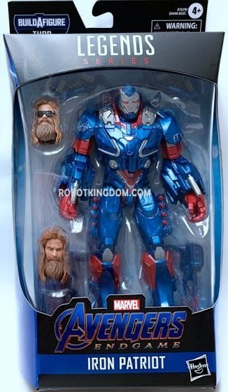 "Hasbro Avengers Endgame Marvel Legends 6"" Iron Patriot. Available Now!"