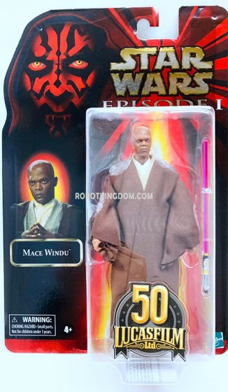"""STAR WARS The Black Series Lucasfilm 50th Anniversary 6"""" Mace Windu. Available Now!"""