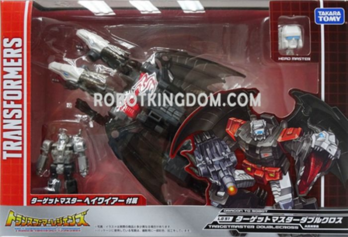 Takara Transformers Legends LG-51 - Targetmaster Double Cross. Available Now!