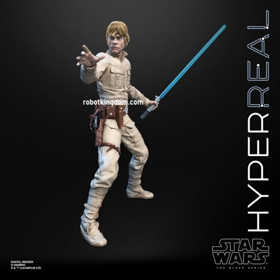 Star Wars Black Series HYPERREAL FIGURES Luke Skywalker. Preorder. Start Shipping on 4th May 2020.