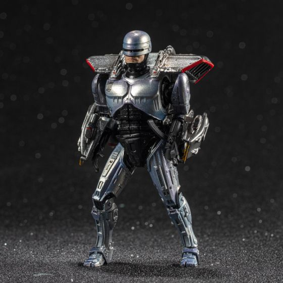 """Hiya Toys LR0082 Exquisite Mini Series: """"ROBOCOP 3"""" - ROBOCOP with Jetpack. Preorder. Available in 3rd Quarter 2020."""