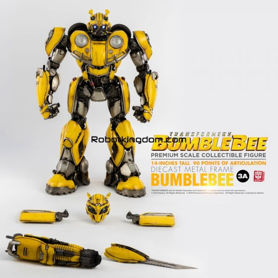 Hasbro x ThreeA : BUMBLEBEE Transformers BUMBLEBEE Premium Scale Collectible Series. Preorder. Available in 1st quarter 2020.