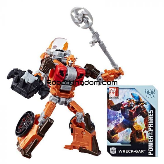 Exclusive Power of the Primes Wreck-Gar. Start Shipping Now!