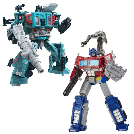 Transformers Generations Earthrise Leader Wave 2 set of 2 (DOUBLEDEALER, OPTIMUS PRIME). Preorder. Start Shipping on 1st September 2020.
