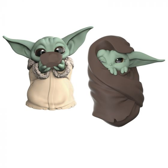 Star Wars The Mandalorian Baby Bounties Soup and Blanket Mini-Figures. Preorder. Available in May 2020.