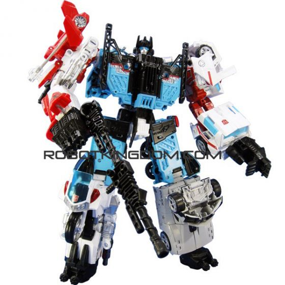 Transformers Takaratomy Mall Exclusive United Warriors UW-03 Guardian with Exclusive Coin! Last few pcs!