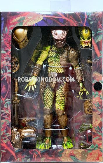 "NECA Predator - 7"" Scale Action Figure - Ultimate Elder: The Golden Angel. Available Now!"