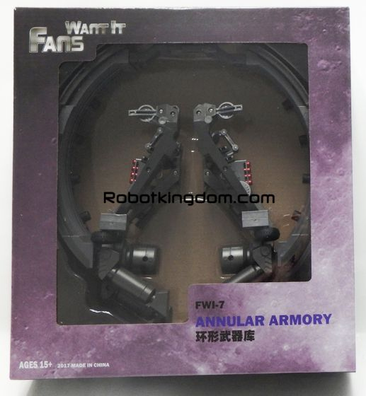 Fans Want It FWI-7 Annular Armory. Available Now!