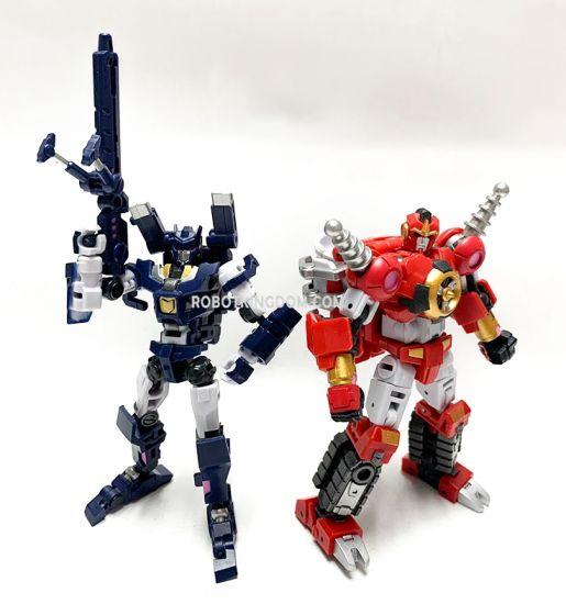 "Iron Factory IF-EX32/33 Spirits of the ""D.E.C."" –Phecda/Mizar. Available Now!"