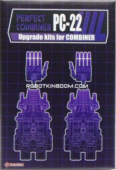 Perfect Effect PC-22 Upgrade Set for POTP Starscream. Available Now!