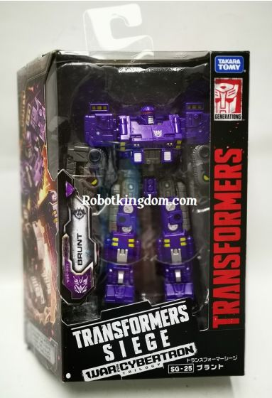 Takara Transformers Siege SG-25 Brunt. Available NOW!