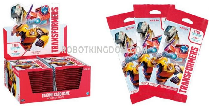 Wizard of the Coast Transformers Trading Card Game Booster Packs Box of 30. Available Now!