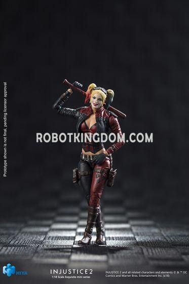 Hiya Toys LD0037 INJUSTICE 2 Basic Harley Quinn. Available Now!
